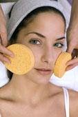 Skincare lady