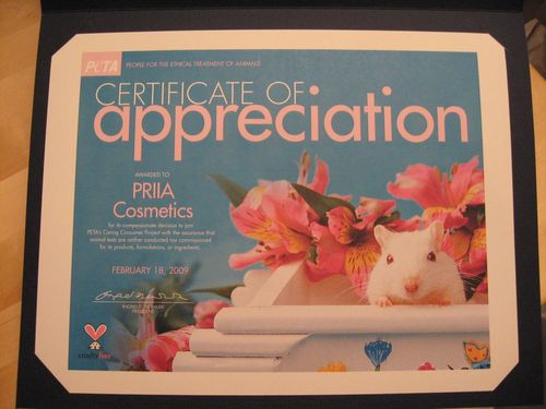 Priia Award